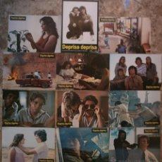 Cinema: DEPRISA DEPRISA, ELIAS QUEREJETA, CARLOS SAURA - SET COMPLETO 12 FOTOCROMOS. Lote 229308810