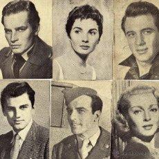 Cine: 29 FOTO POSTALES ACTORES Y ACTRICES-AÑOS 50. Lote 45318502