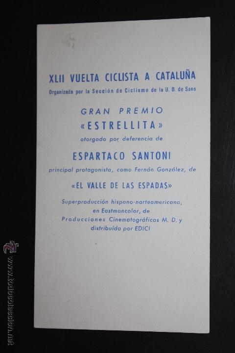 Cine: su alteza la niña - tarjeta gran premio estrellita de la XLII vuelta ciclista a cataluña - Foto 2 - 45405694