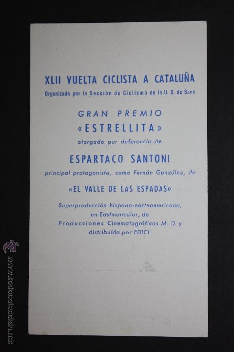 Cine: su alteza la niña - tarjeta gran premio estrellita de la XLII vuelta ciclista a cataluña - Foto 2 - 45405701