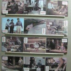 Cine: SET COMPLETO 12 FOTOCROMOS - CONSPIRACION DE SILENCIO - SPENCER TRACY, AÑO 1981. Lote 45490576