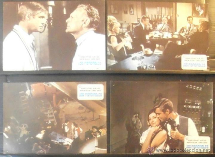 Cine: (274) LOS INSACIABLES,GEORGE PEPPARD,ALAN LADD,10 FOTOCROMOS, - Foto 2 - 45494952