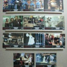 Cine: SET COMPLETO 11 FOTOCROMOS, GINGER Y FRED, FEDERICO FELLINI, MARCELLO MASTROIANNI. Lote 245775890