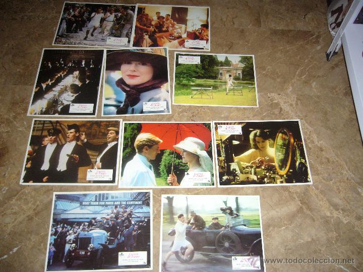 CARROS DE FUEGO 10 FOTOCROMOS ORIGINALES B(726) (Cine - Fotos, Fotocromos y Postales de Películas)