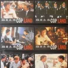 Cine: (393) COP LAND,STALLONE,HARVEY KEITEL,LIOTTA,NIRO,12 FOTOCROMOS,. Lote 45611227