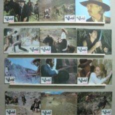 Cine: SET COMPLETO 12 FOTOCROMOS - POR LA SENDA MAS DURA, LEE VAN CLEEF, C. SPAAK, JIM KELLY, JIM BROWN. Lote 45677258
