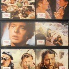 Cine: (464) POR QUIEN DOBLAN LAS CAMPANAS,GARY COOPER,INGRID BERGMAN,12 FOTOCROMOS,. Lote 45679501