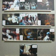 Cine: CAVERNAS FANTASMAS, ROBERT POWELL, TIMOTHY BOTTONS, AÑO 1984 - SET 10 FOTOCROMOS. Lote 45696621