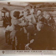 Cine: FOTOGRAFIA DE BURT LANCASTER. VIRGINIA MAYO. THE FLAME AND THE ARROW.. Lote 45789045