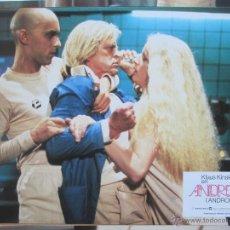 Cine: ANDROIDE, KLAUS KINSKY, 1982, 12 FOTOCROMOS, F519. Lote 45818831