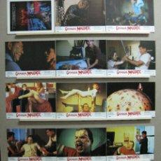 Cine: GRANJA MALDITA, H.P. LOVECRAFT, WIL WHEATON - SET COMPLETO 12 FOTOCROMOS. Lote 120395692