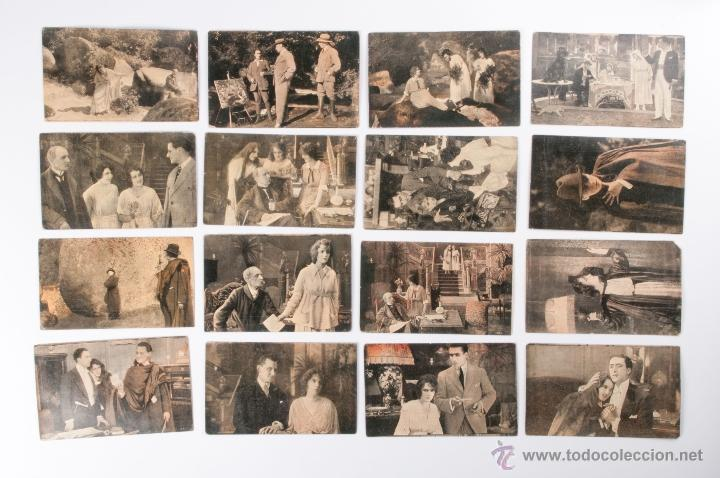 LOTE TARJETA POSTAL LORENA CHOCOLATE AMATLLER (Cine - Fotos y Postales de Actores y Actrices)