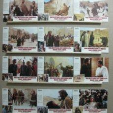 Cine: SET COMPLETO 12 FOTOCROMOS - UNA HISTORIA QUE COMENZO HACE 2000 AÑOS, KEITH CARRADINE, HARVEY KEITEL. Lote 45864873