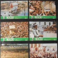 Cine: (703) ROCIO ,FERNANDO RUIZ,8 FOTOCROMOS,VER FOTOS. Lote 45892151