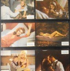 Cine: (718) NINFOMANIA,DAGMAR LASSANDER,JOACHIM HANSEN,12 FOTOCROMOS,VER FOTOS. Lote 45900136
