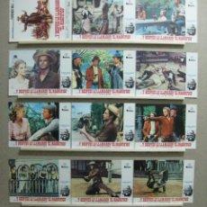 Cine: SET COMPLETO 12 FOTOCROMOS - Y DESPUES LE LLAMARON EL MAGNIFICO, TERENCE HILL, AÑO 1981. Lote 221654175