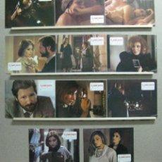 Cine: SET 11 FOTOCROMOS - EL JARDIN SECRETO, CARLOS SUAREZ, ASSUMPTA SERNA, XABIER ELORRIAGA. Lote 46062621