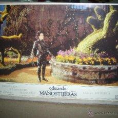 Cine: EDUARDO MANOSTIJERAS TIM BURTON JOHNNY DEPP FOTOCROMO ORIGINAL Q. Lote 46063961