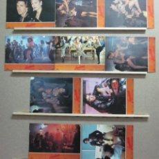Cine: SET COMPLETO 10 FOTOCROMOS - LAMBADA FUEGO EN EL CUERPO, AÑO 1990. Lote 46067464