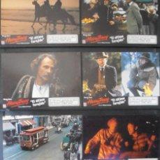 Cine: (788) HARRY TRACY,EL ULTIMO FORAJIDO,BRUCE DERN,12 FOTOCROMOS,VER FOTOS. Lote 46126711