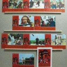 Cine: SET COMPLETO 10 FOTOCROMOS - EL SAMURAI DEL DIABLO, TIANG PIN, CHIANG CHIN. Lote 46155746