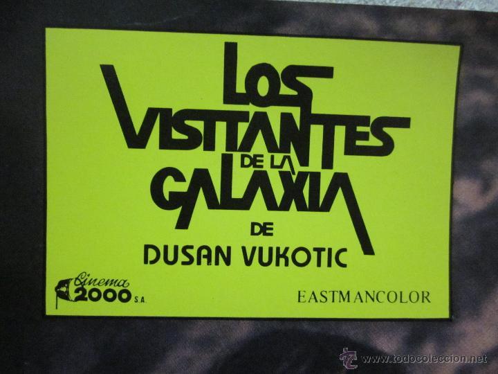 Cine: LOS VISITANTES DE LA GALAXIA, DUSAN VUKOTIC - SET COMPLETO 8 - Foto 2 - 46188572