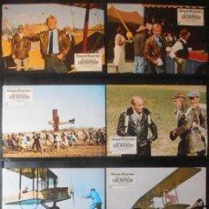 Cine: (842) EL CARNAVAL DE LAS AGUILAS,ROBERT REDFORD,SUSAN SARANDON,12 FOTOCROMOS,VER FOTOS. Lote 46292616