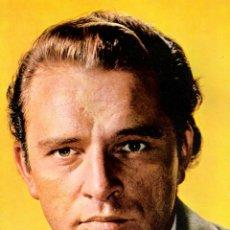 Cine: RICHARD BURTON POSTAL ORIGINAL A COLOR DE LA EPOCA. Lote 46319402