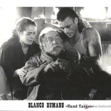 Cine: F15125 JEAN CLAUDE VAN DAMME BLANCO HUMANO FOTO B/N ORIGINAL ESPAÑOLA. Lote 46470573