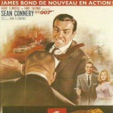 Cine: JAMES BOND 007- GOLDFINGER *** ENVIO CERTIFICADO GRATIS***. Lote 46473402
