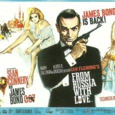 Cine: JAMES BOND 007- FROM RUSSIA WITH LOVE *** ENVIO CERTIFICADO GRATIS***. Lote 46473447
