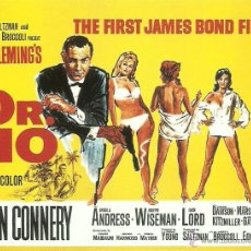 Cine: JAMES BOND 007- DR.NO *** ENVIO CERTIFICADO GRATIS***. Lote 46473487