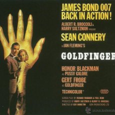 Cine: JAMES BOND 007- GOLDFINGER *** ENVIO CERTIFICADO GRATIS***. Lote 46473505