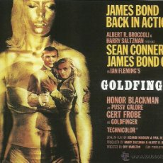 Cine: JAMES BOND 007- GOLDFINGER *** ENVIO CERTIFICADO GRATIS***. Lote 46473520