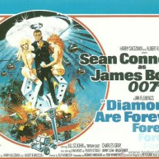 Cine: JAMES BOND 007- DIAMONDS ARE FOREVER *** ENVIO CERTIFICADO GRATIS***. Lote 46473563