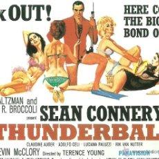Cine: JAMES BOND 007- THUNDERBALL *** ENVIO CERTIFICADO GRATIS***. Lote 46473596