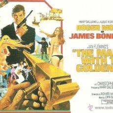 Cine: JAMES BOND 007- THE MAN WITH THE GOLDEN GUN *** ENVIO CERTIFICADO GRATIS***. Lote 46473621