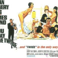 Cine: JAMES BOND 007- YOU ONLY LIVE TWICE *** ENVIO CERTIFICADO GRATIS***. Lote 46473651