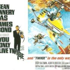 Cine: JAMES BOND 007- YOU ONLY LIVE TWICE *** ENVIO CERTIFICADO GRATIS***. Lote 46473659