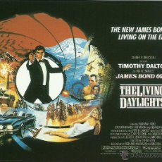 Cine: JAMES BOND 007 -THE LIVING DAYLIGHTS *** ENVIO CERTIFICADO GRATIS***. Lote 46473674