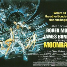Cine: JAMES BOND 007 -MOONRAKER *** ENVIO CERTIFICADO GRATIS***. Lote 46473687