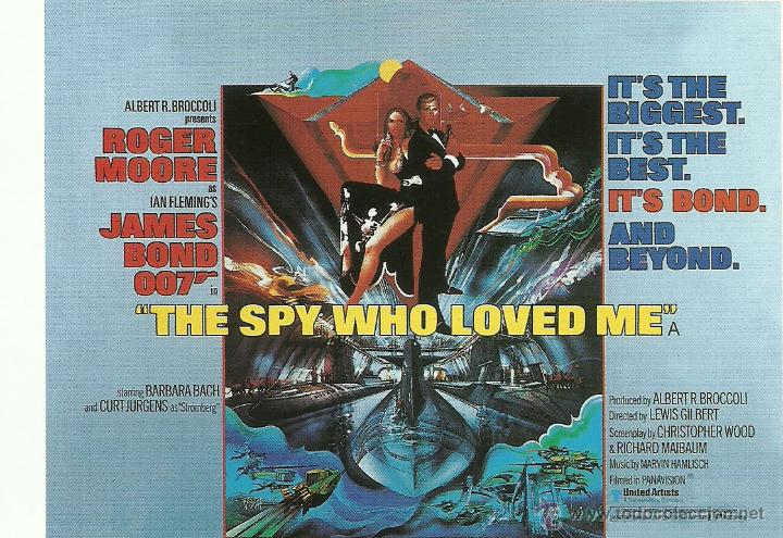 JAMES BOND 007 - THE SPY WHO LOVED ME *** ENVIO CERTIFICADO GRATIS*** (Cine - Fotos, Fotocromos y Postales de Películas)