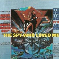 Cine: JAMES BOND 007 - THE SPY WHO LOVED ME *** ENVIO CERTIFICADO GRATIS***. Lote 46473712