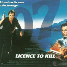 Cine: JAMES BOND 007 - LICENSE TO KILL *** ENVIO CERTIFICADO GRATIS***. Lote 46473733