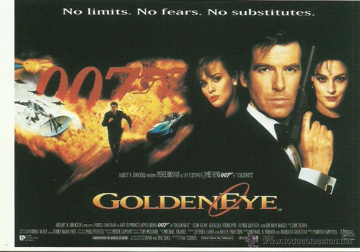 JAMES BOND 007 - GOLDENEYE *** ENVIO CERTIFICADO GRATIS*** (Cine - Fotos, Fotocromos y Postales de Películas)