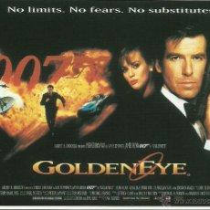 Cine: JAMES BOND 007 - GOLDENEYE *** ENVIO CERTIFICADO GRATIS***. Lote 46473751