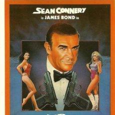 Cine: JAMES BOND 007 - NEVER SAY NEVER AGAIN *** ENVIO CERTIFICADO GRATIS***. Lote 46473781