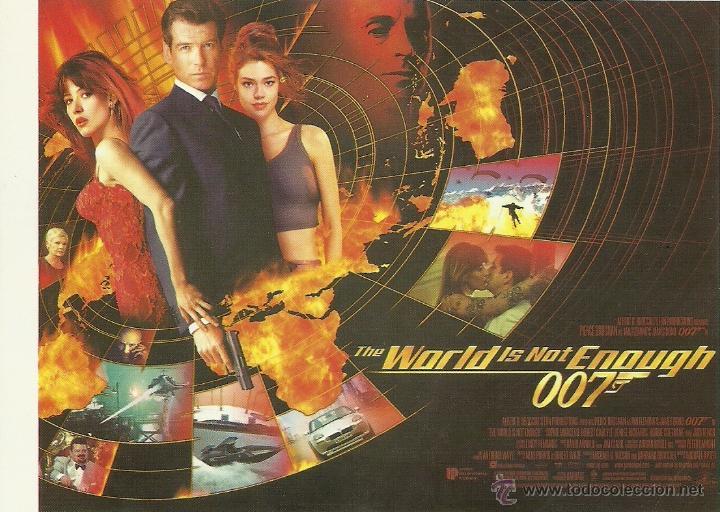 JAMES BOND 007 - THE WORLD IS NOT ENOUGH *** ENVIO CERTIFICADO GRATIS*** (Cine - Fotos, Fotocromos y Postales de Películas)