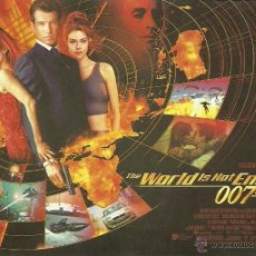 Cine: JAMES BOND 007 - THE WORLD IS NOT ENOUGH *** ENVIO CERTIFICADO GRATIS***. Lote 46473813