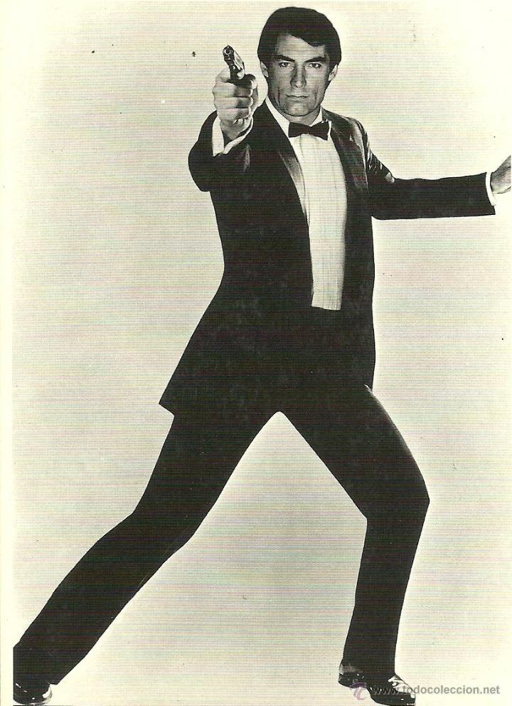 JAMES BOND 007 - TIMOTHY DALTON (Cine - Fotos y Postales de Actores y Actrices)